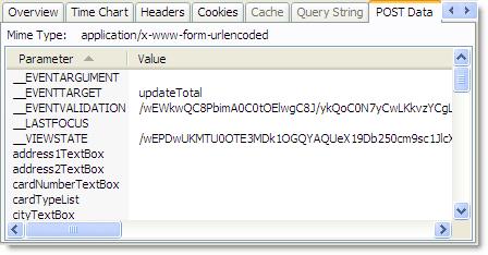 ASP.NET hidden fields