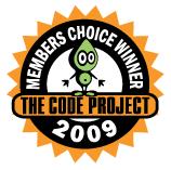 Code Project Members Choice Award