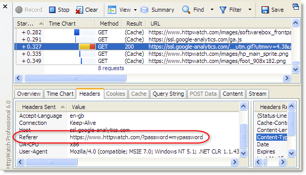 How Secure Are Query Strings Over HTTPS? | HttpWatch