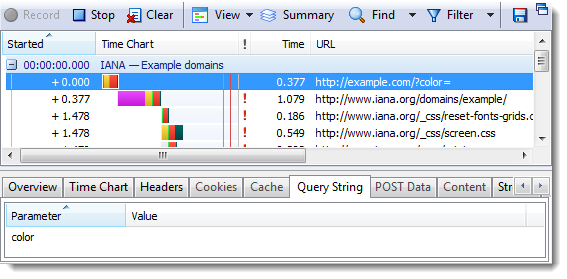 6 Things You Should Know About Fragment URLs | HttpWatch
