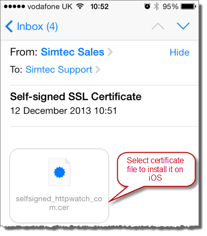 Five Tips for Using Self Signed SSL Certificates with iOS