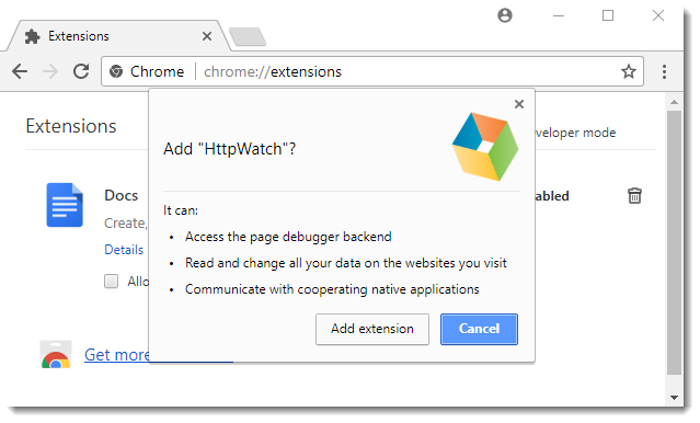 manually install chrome extension crx